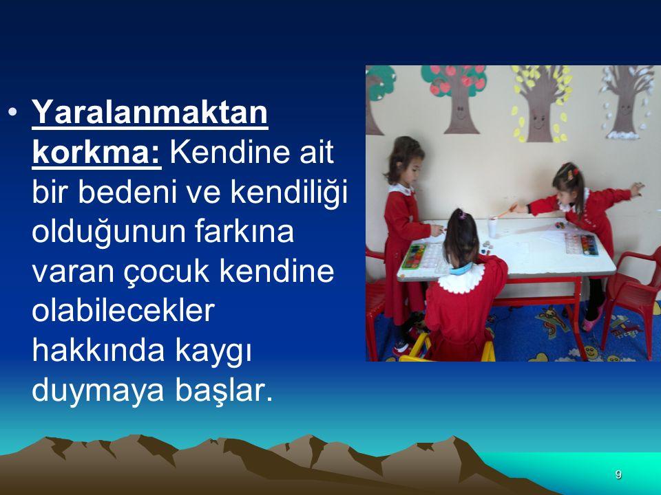 30 3-7 yaş çocuğu dil becerileri yönünden oldukça gelişmiştir.