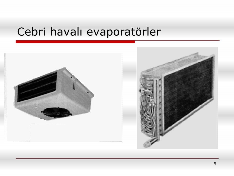 4 Doğal havalı evaporatörler