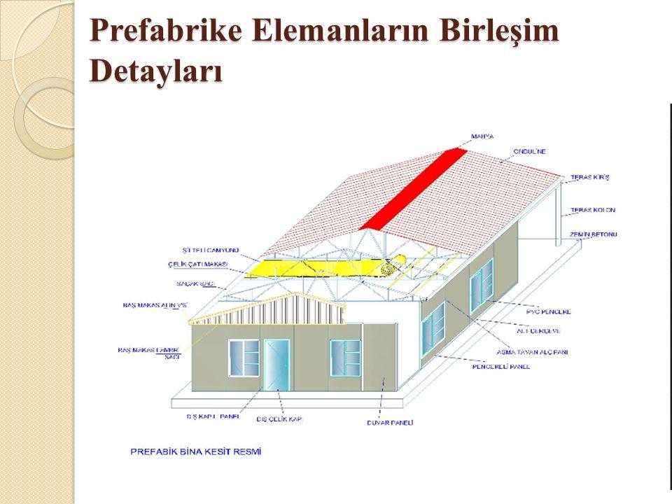 Prefabrike Elemanların Birleşim Detayları