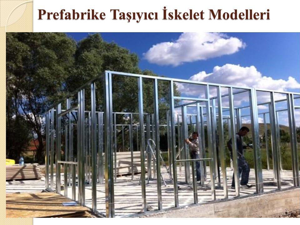 Prefabrike Taşıyıcı İskelet Modelleri