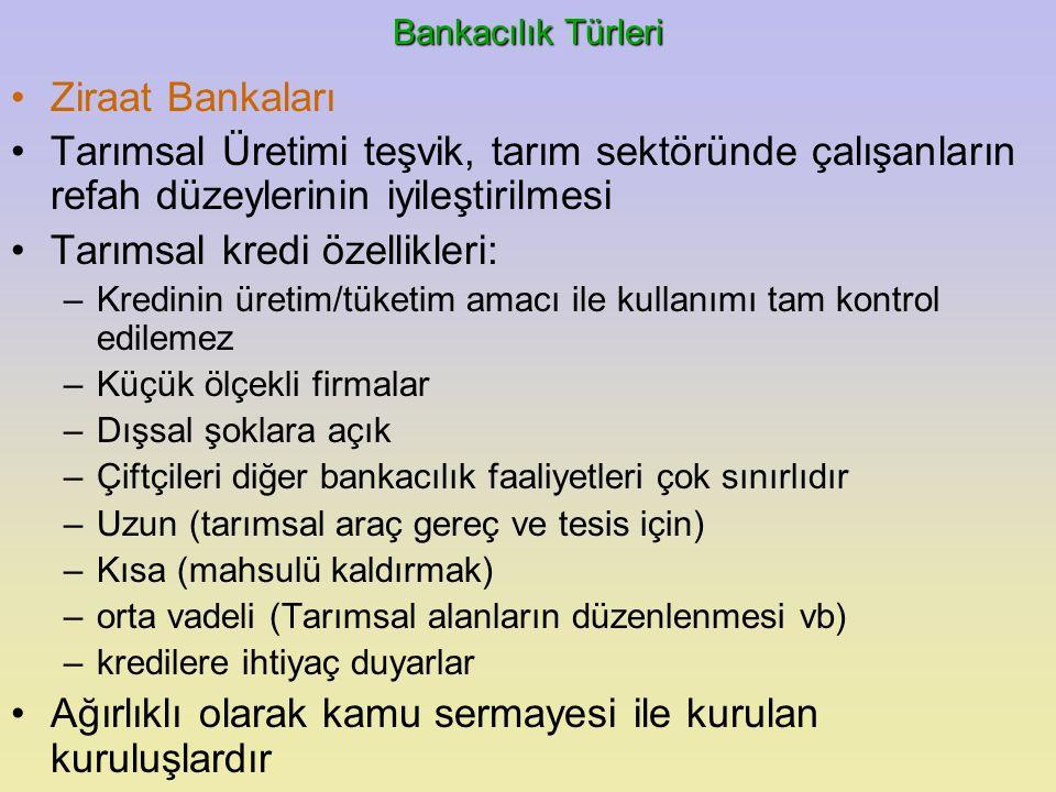 BANKACILIK HİZMETLERİ