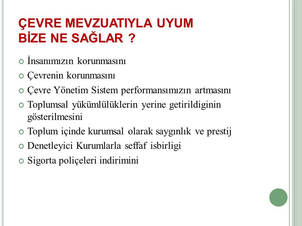 NEDEN MEVZUAT ÖNEMLİ .