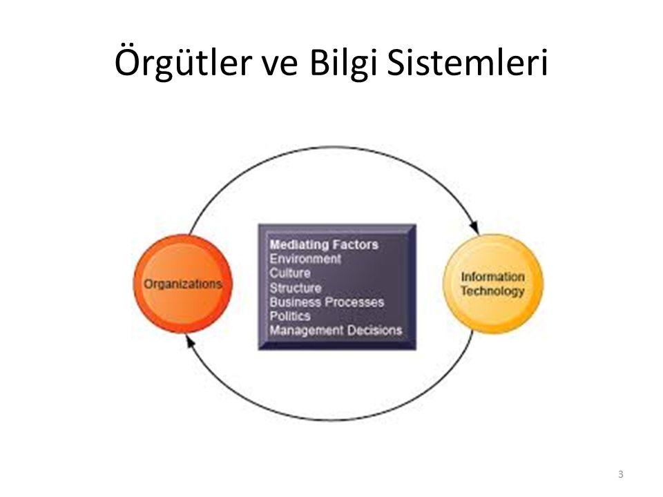 Örgütler ve Bilgi Sistemleri 3
