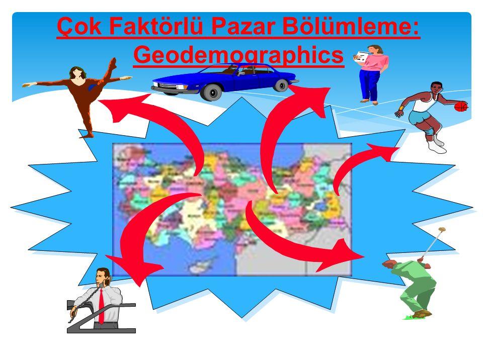 Çok Faktörlü Pazar Bölümleme: Geodemographics