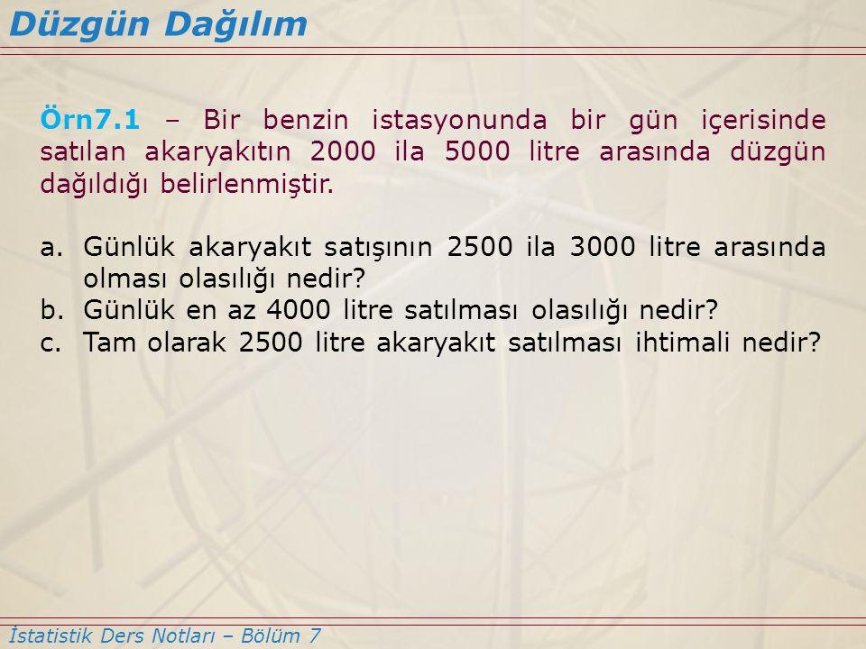 S7.5 – İstanbul menkul kıymetler borsasındaki hisse senetlerinin ortalama değerlerinin 30 TL ve standart sapmalarının 8,2 TL olduğu bilinmektedir.