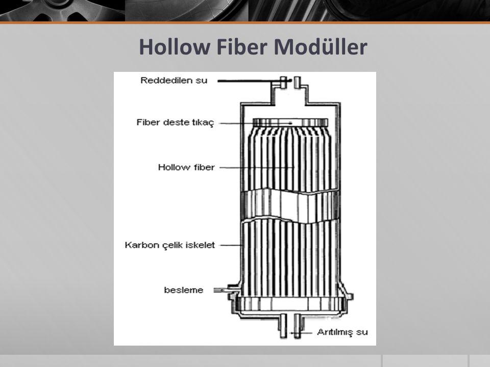 Hollow Fiber Modüller