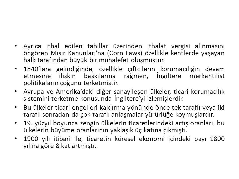 İhracat Sübvansiyonları İhracatı teşvik amacıyla ihracatçıya yapılan dolaysız ödemeleri ifade eder.
