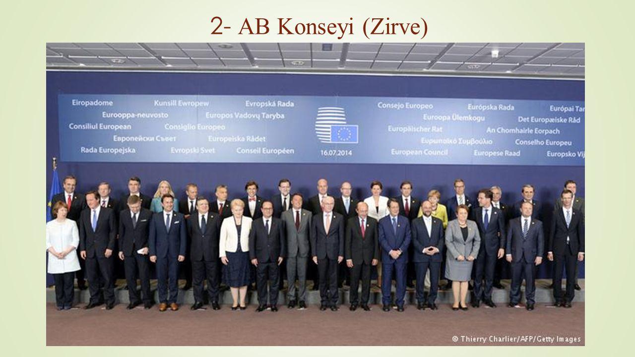 2- AB Konseyi (Zirve)
