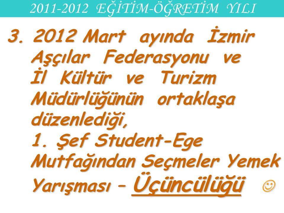 2011-2012 EĞİTİM-ÖĞRETİM YILI 3.