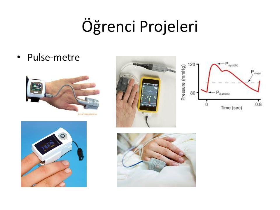 19 Bazı Elektrik Kökenli Olmayan Biyolojik İşaretler : *Kan basıncı :basınç dönüştürücüsü, kalp ve dolaşım sisteminin *Kan akış hızı : elektromagnetik