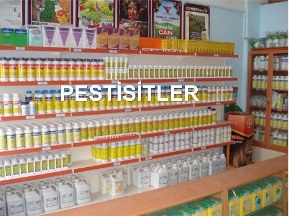 Pestisit :Pestisit : Zararlı organizmaları engellemek, kontrol altına almak ya da zararlarını azaltmak için kullanılan madde ya da maddelerden oluşan karışımlardır.