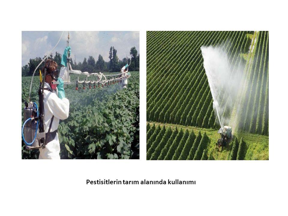 Pestisitlerin tarım alanında kullanımı