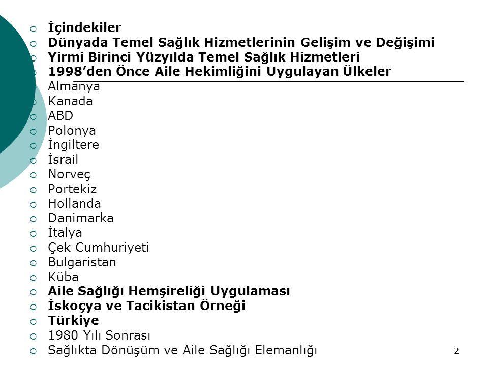 Metin 200263 Türkiye'nin Başlıca Sağlık Sorunları 1 1.