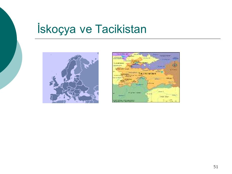 51 İskoçya ve Tacikistan