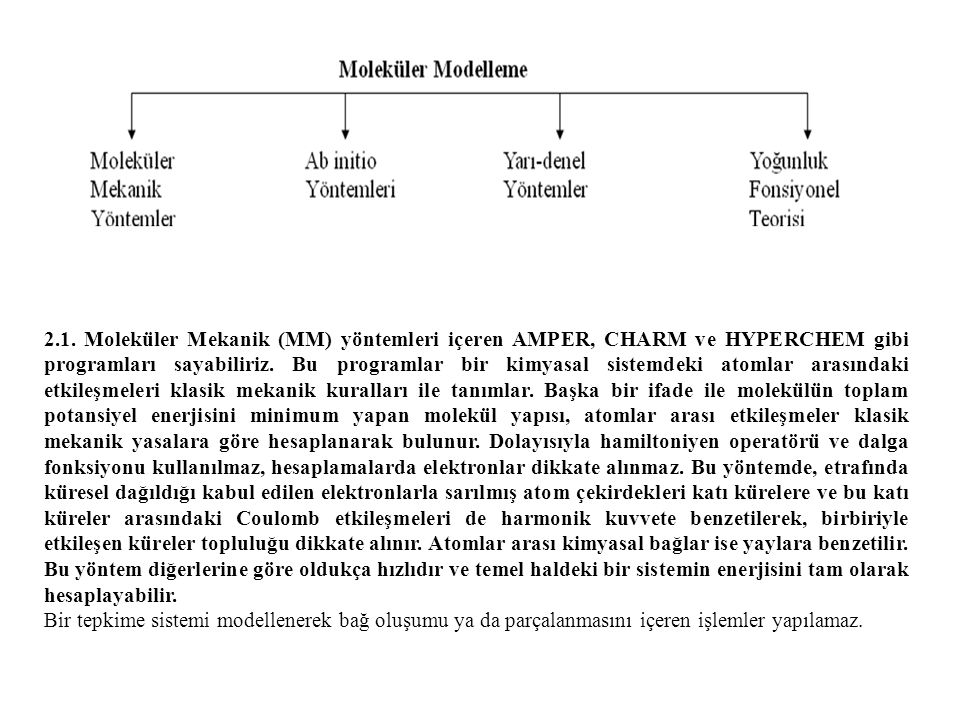 Tablo 1 (1)' in kristalografik datası Kimyasal Formülü Moleküler Ağırlığı Sıcaklık, T (K) Dalgaboyu (Å) Kristal Sistem Kristal Boyutu (mm 3 ) Uzay Grubu a (Å) b (Å) c (Å) α (°) β (°) γ (°) Hacim, V (Å 3 ) Z T min, T maks Hesaplanan Yoğunluk (Mg m -3 ) θ aralığı (º) Data Aralığı Ölçülen Yansımalar Bağımsız Yansımalar Gözlenen Yansımalar ( I>2σ ) Yerleştirme Faktörü R1 indisi ( I>2σ ) wR2 indisi ( I>2σ ) Δρ min, Δρ maks (e/Å 3 ) C 27 H 37 N 3 404.6 296 0.71073 Monoklinik 0.320 x 0.607 x 0.760 P 2 1 /n 9.2480(4) 10.7349(5) 24.7125(10) 90 97.180(4) 90 2434.13(18) 4 0.8330, 1.000 1.10 3.13 – 27.79 h= -11→11, k= -8→13, l= -30→25 9517 4852 2676 1.043 0.06 0.14 -0.165, 0.234