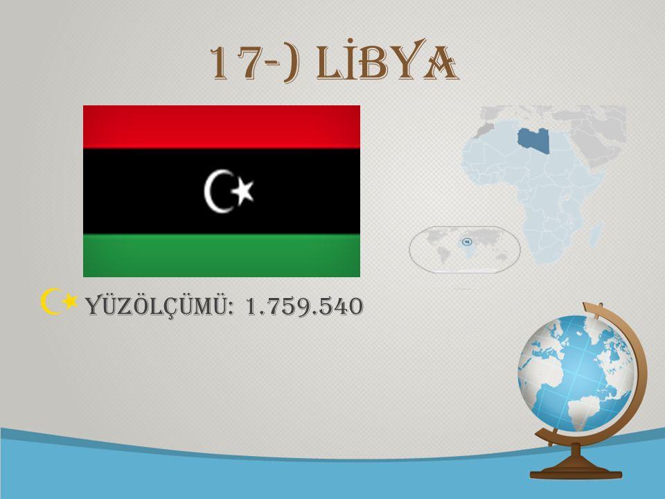 © free-ppt-templates.com 17-) L İ BYA YÜZÖLÇÜMÜ: 1.759.540