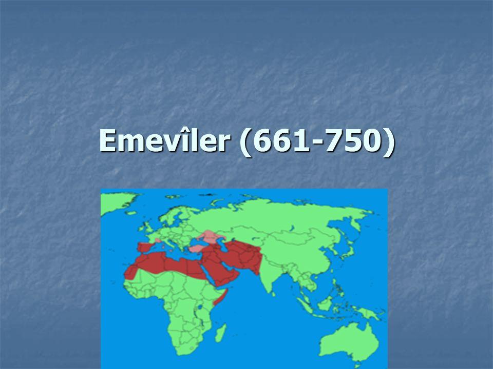 Emevîler (661-750)