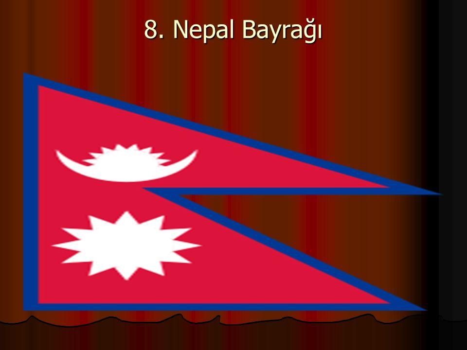 8. Nepal Bayrağı