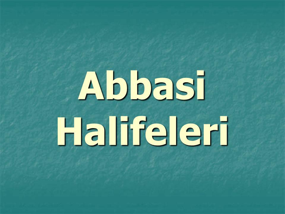 Abbasi Halifeleri