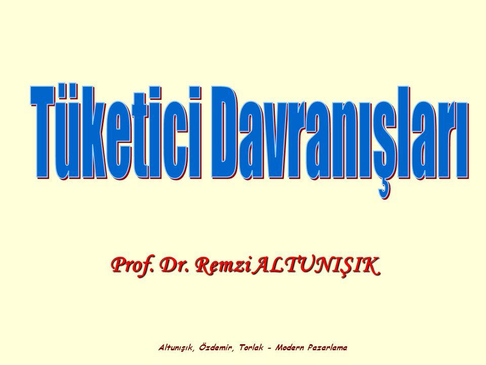 Altunışık, Özdemir, Torlak - Modern Pazarlama Prof. Dr. Remzi ALTUNIŞIK