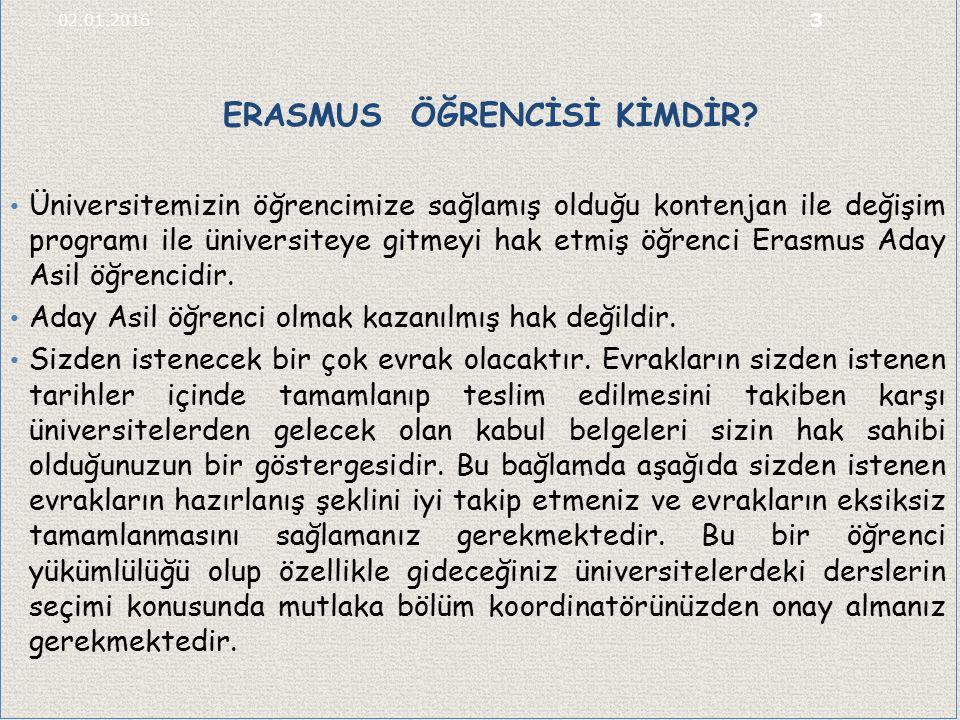 ERASMUS ÖĞRENCİSİ KİMDİR.