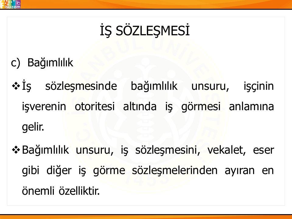 İŞ SÖZLEŞMESİ 2.