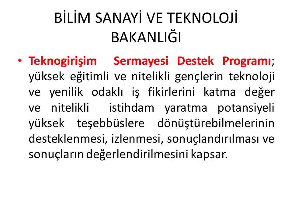 KOSGEB 1.GİRİŞİMCİLİK DESTEK PROGRAMI 2.