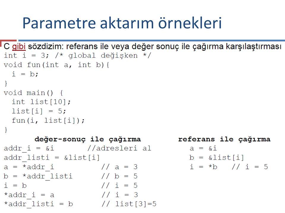 Parametre aktarım örnekleri 88