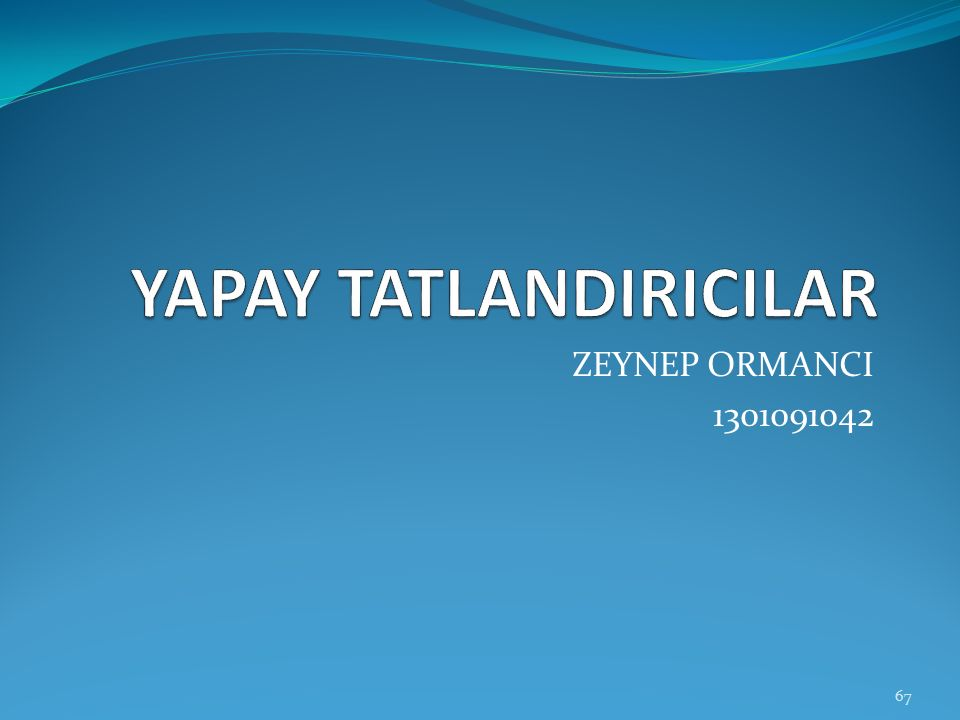 ZEYNEP ORMANCI 1301091042 67