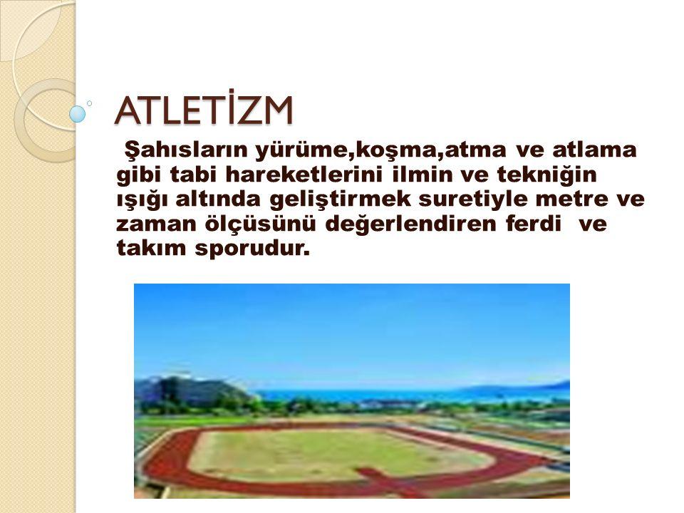 ATLET İ ZMLE İ LG İ L İ GENEL B İ LG İ 1900 lü yılların başında ülkeler arasındaki yarışmaların sıklaşması ve olimpiyatların süratli gelişmesi karşısında atletizmde uluslar arası bir idari organın kurulmasını gereklili ğ i ortaya çıkmıştır.1912 yılında Olimpiyat oyunlarından hemen sonra bir araya gelen ülke temsilcileri Uluslararası Amatör Atletizm Federasyonunu oluşturmuştur.1922 yılında kurulan Türkiye Atletizm Federasyonu ise IAAF 'a 1924 yılında üye olmuştur.Son şekliyle IAAF'a üye ülke sayısı 210 olmuştur