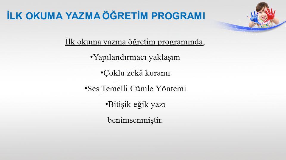 İLK OKUMA YAZMA ÖĞRETİM PROGRAMI Türkçe Öğretim Programında, öğrencilerin dinleme, konuşma, okuma, yazma, görsel okuma ve görsel sunu becerilerini kazanmaları; bilişsel, sosyal ve duygusal yönlerden geliştirmeleri; etkili iletişim kurmaları; Türkçe sevgisiyle, istek duyarak okuma-yazma alışkanlığı edinmeleri amacıyla hazırlanmıştır.