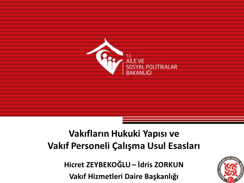 Sosyal Yardımlaşma ve Dayanışma Vakıfları SYD Vakıfları, 3294 sayılı Kanunun amacına uygun faaliyet ve çalışmalar yapma ve ihtiyaç sahibi vatandaşlara nakdi ve ayni yardımda bulunma amacıyla kurulmuştur.