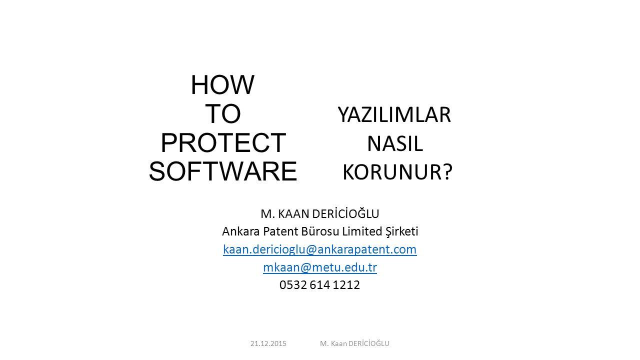 TİCARET SIRLARI Bilgisayar programlarının bir başka koruma yöntemi de Ticaret Sırları kapsamında korumadır.