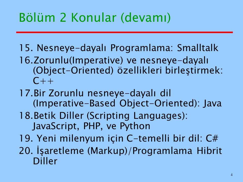 Yaygın Dillerin Soyağacı (Genealogy) 5