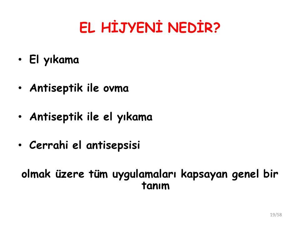 EL HİJYENİ NEDİR.