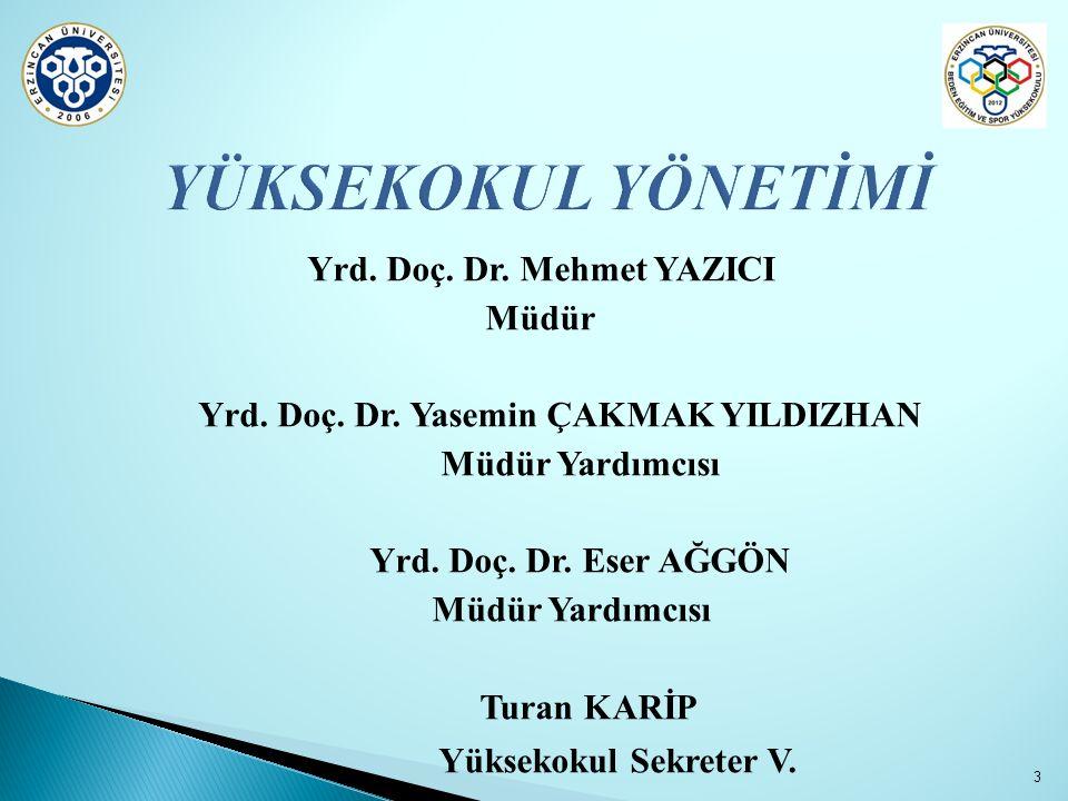  Farabi programı kapsamında çeşitli üniversiteler ile Beden Eğitimi ve Spor Eğitimi ve Spor Yöneticiliği Bölümleri arası öğrenci hareketliliği anlaşmalarının yapılması,  Atatürk Üniversitesi ile Ortak Tezli Yüksek Lisans programının başlatılması ve öğrenci alımları,  Yüksekokulumuz lisans ve yüksek lisans öğrencilerine akademik deneyim kazandırmak amacı ile Bilimsel Poster Sunumu etkinliğinin gerçekleştirilmesi.