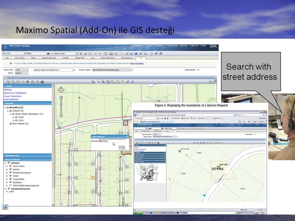 Maximo Spatial (Add-On) ile GIS desteği