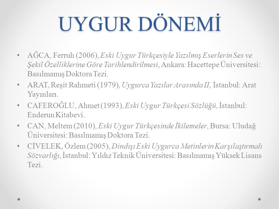 1990 Ataturk ve Turk Dilinde Reform.A New Classification of the Chuvash-Turkic Languages.