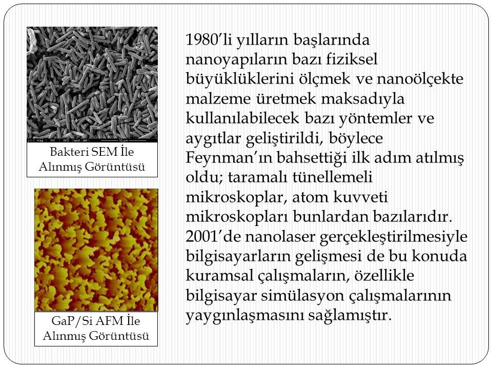 NANOTEKNOLOJ İ N İ N SU ARITMADA KULLANIMI NANOMATERYALLER Nanomateryaller, 100 nanometrenin altında en az bir boyut içeren materyallerdir.