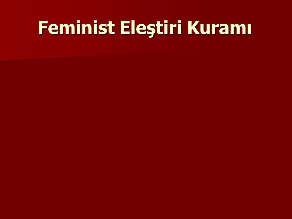 Feminist Eleştiri Kuramı