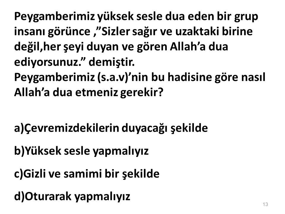 Kul hüvallahü ehad Allahussamed Lem yelid ve..............Ve lem yekün lehû............