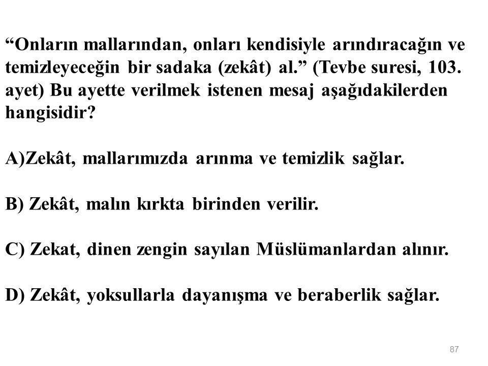 """86 """"Allah'a çağıran, salih amel işleyen ve 'Kuşkusuz ben Müslümanlardanım' diyenden daha güzel sözlü kim vardır."""" (Fussilet suresi, 33. ayet) Aşağıdak"""