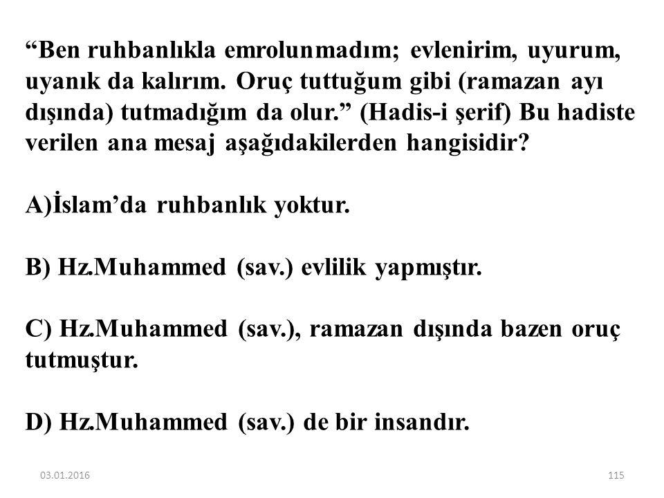 """Hz. Muhammed (sav.)'in gençlik yıllarında """"Erdemliler Topluluğuna"""" katılması daha çok hangi yönüyle ilgilidir? A)Öksüz ve yetim olması B) Haksızlıklar"""