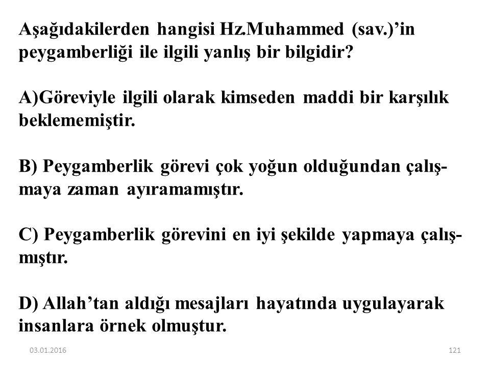Peygamberler, Allah'ın emir ve yasaklarını insanlara bildiren elçilerdir. Peygamberlerin bu görevleri aşağıdaki kavramlardan hangisi ile ilgilidir? A)