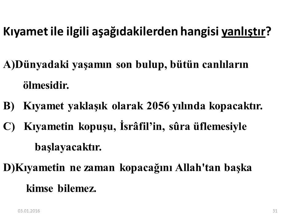 Aşağıdakilerden hangisi meleklerin ortak özelliklerinden biri değildir? A) Allah'ın emrini eksiksiz yerine getiriler B) Yorulduklarında dinlenirler C)