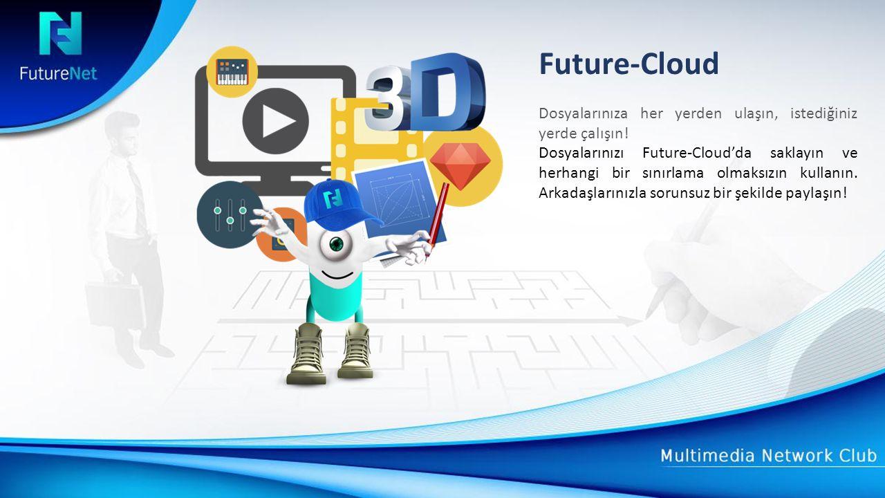 Future-Cloud Dosyalarınıza her yerden ulaşın, istediğiniz yerde çalışın.