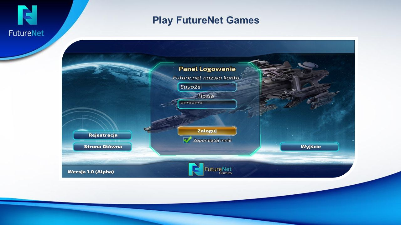 Play FutureNet Games