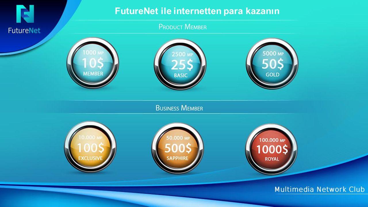 FutureNet ile internetten para kazanın