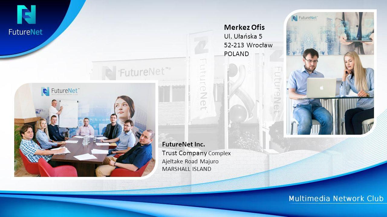 Merkez Ofis Ul. Ułańska 5 52-213 Wrocław POLAND FutureNet Inc.