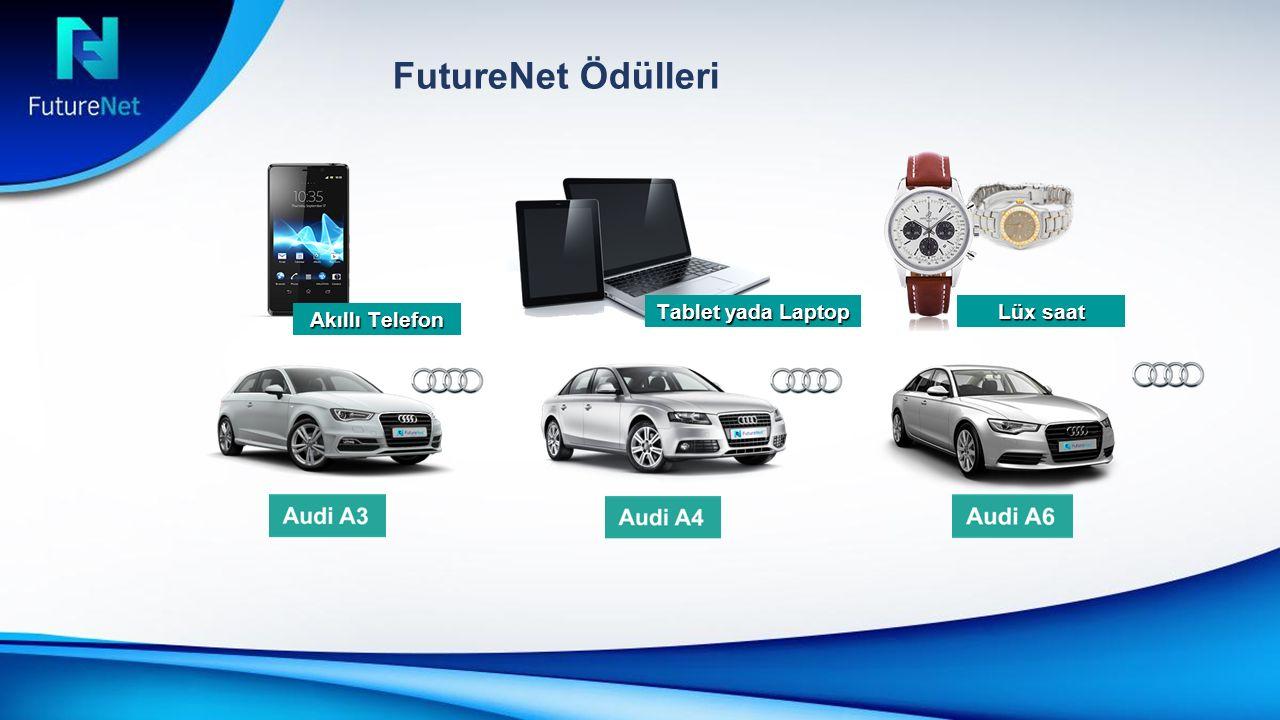 FutureNet Ödülleri Akıllı Telefon Tablet yada Laptop Lüx saat